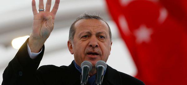 Turkey's Erdogan Aims To Capitalize On A Trump Presidency