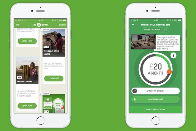 Oxfam's New App Lets You See Exactly Where Your Donations Are