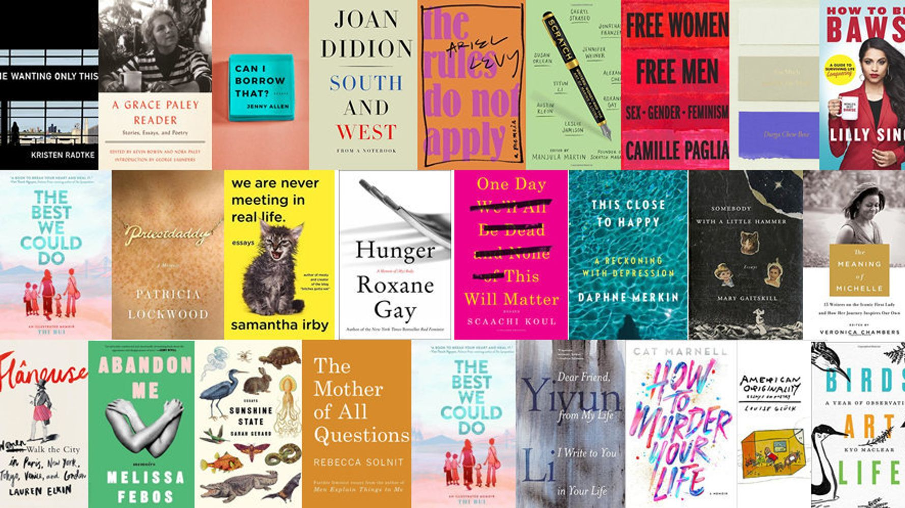 27 Nonfiction Books By Women Everyone Should Read This Year