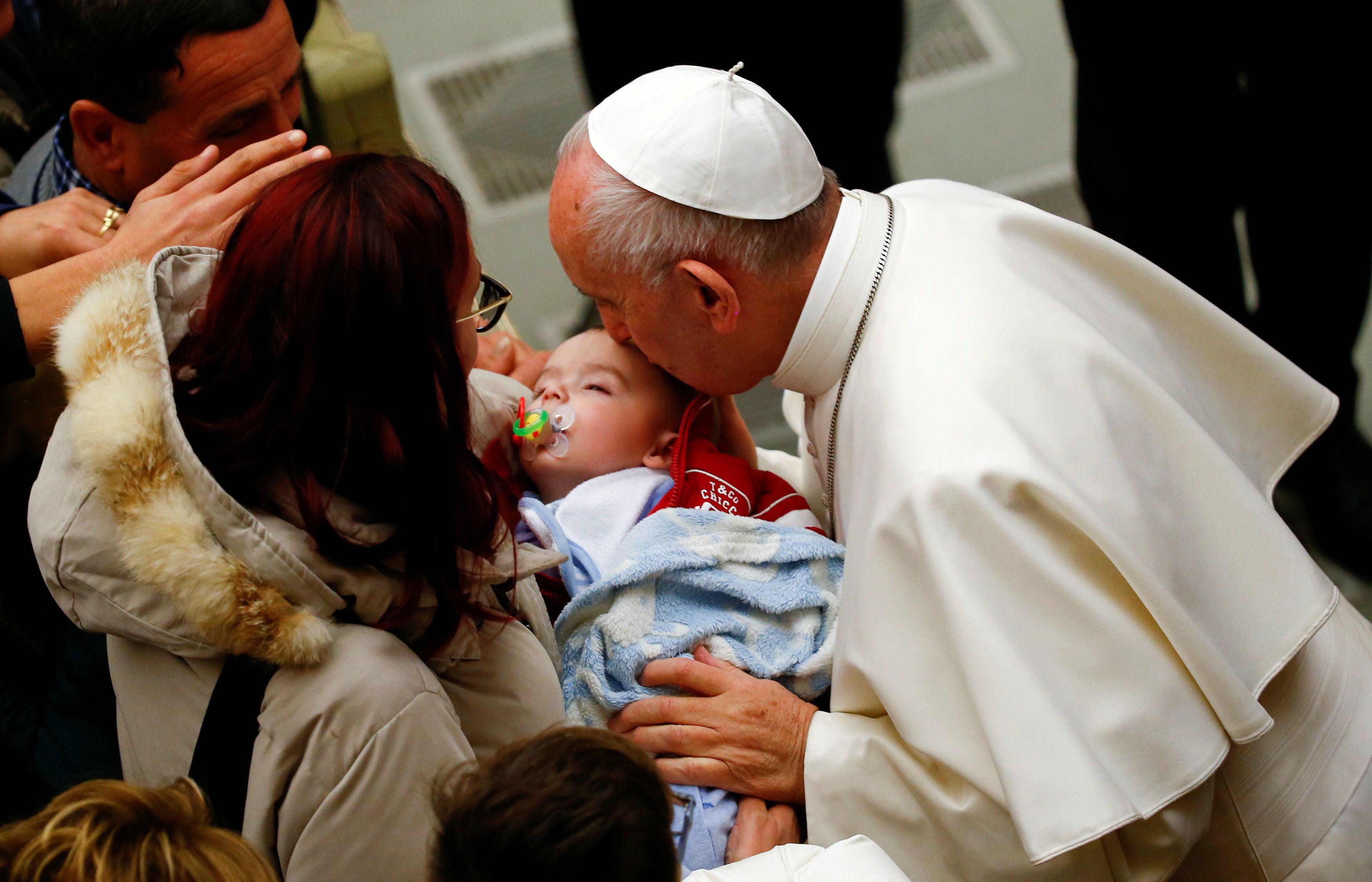 Pope Francishas expressed his support for breastfeeding mothers in the past.