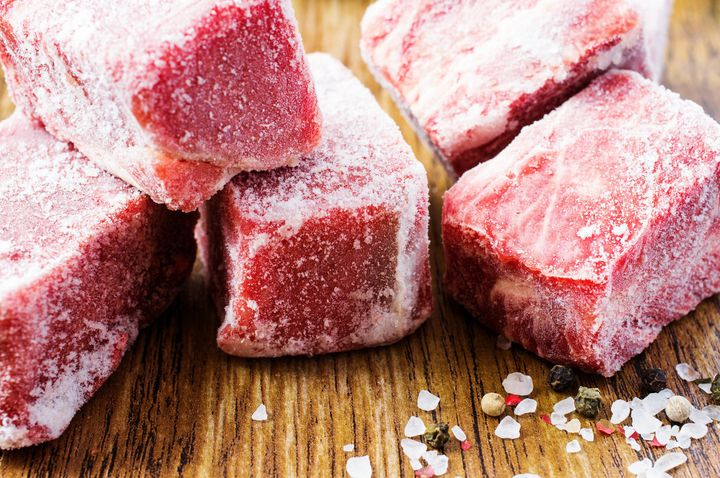 The Reason You Never Want To Refreeze Meat After It's Thawed