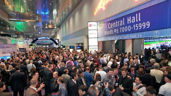 <p>2017 Consumer Electronics Show, Las Vegas Convention Center</p>
