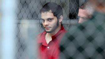 Esteban Santiago is taken from the Broward County main jail as he is transported to the federal courthouse Monday, Jan. 9, 2017 in Fort Lauderdale, Fla. Santiago is accused of killing five people and wounding six others in the Fort Lauderdale airport shooting and faces federal charges involving murder, firearms and airport violence. (Amy Beth Bennett/South Florida Sun SentinelTNS via Getty Images)