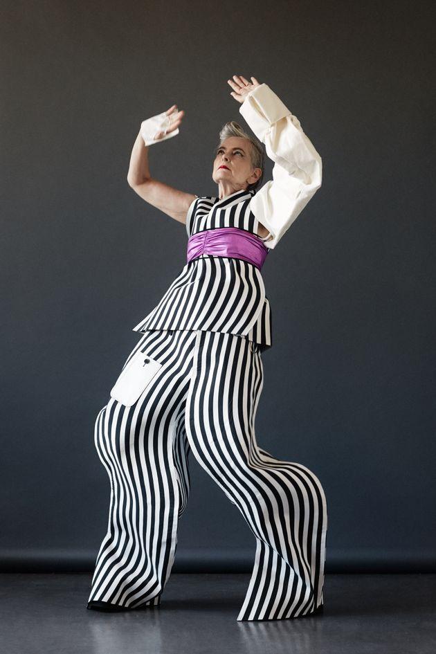63歳のファッションブロガー、年齢という固定観念を破る(画像)