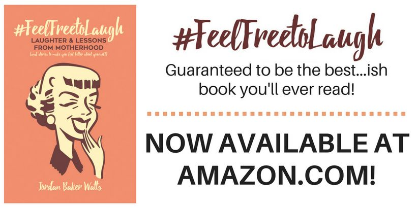 """<a rel=""""nofollow"""" href=""""https://www.amazon.com/FeelFreeToLaugh-Laughter-Lessons-Motherhood-yourself/dp/1537307207/ref=sr_1_1?"""