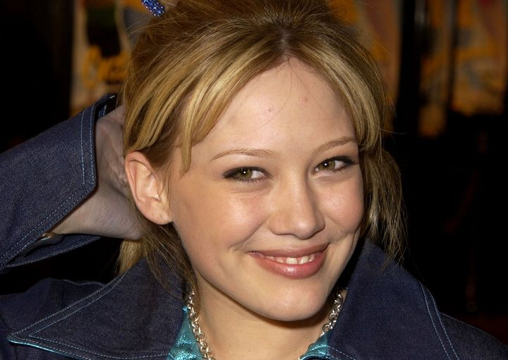 A gun was pulled during a prank on Hilary Duff by an unknown driver.