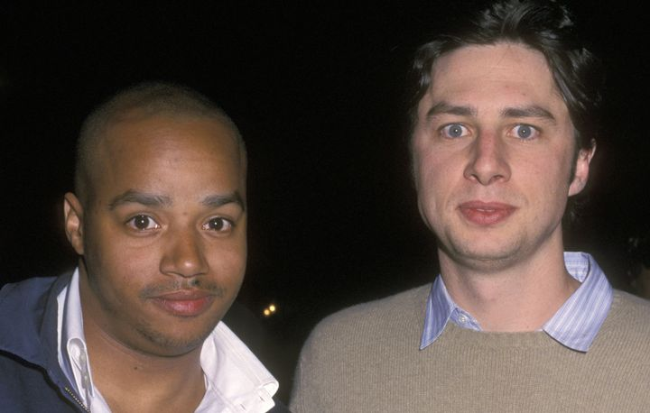 """During a prank, Zach Braff tried to punch a teenage """"Punk'd"""" field agent."""