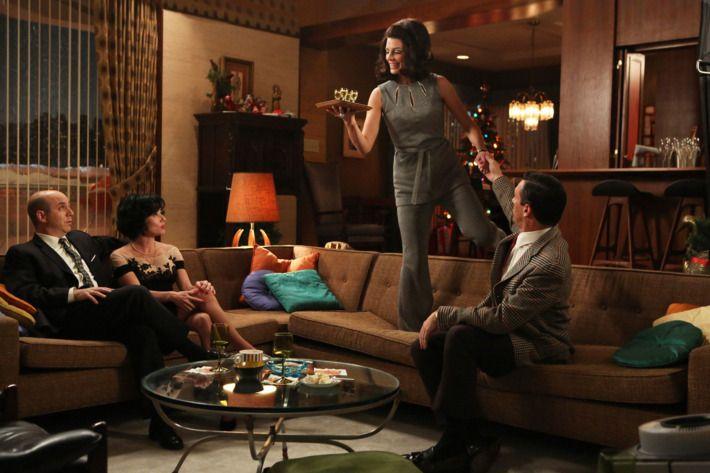 <p>You don't have to be a good hostess to be a good third spouse. </p>