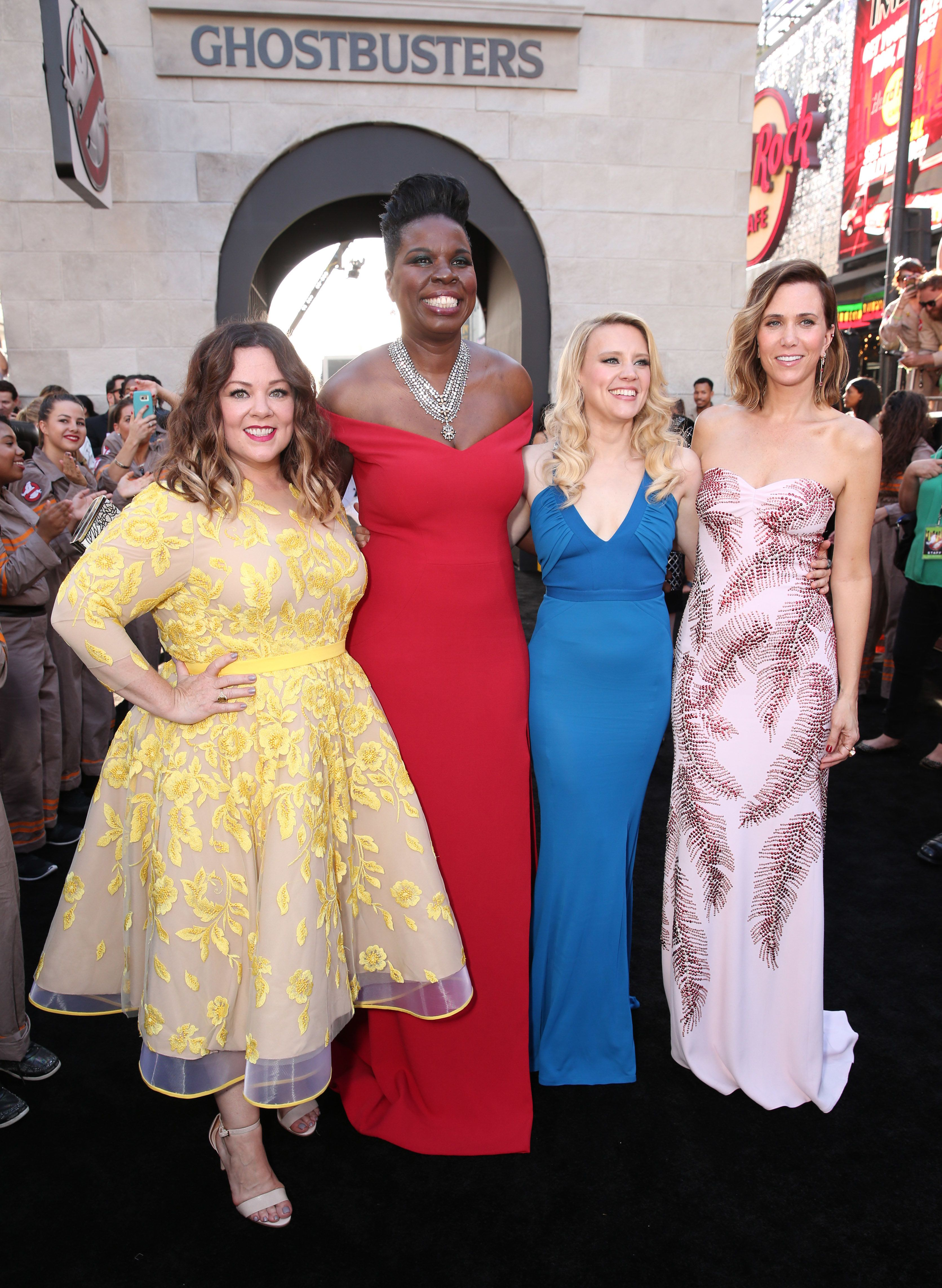 """The all-lady """"Ghostbusters"""" cast that's wreaking chaos and havoc in the lives of millions of fanboys."""