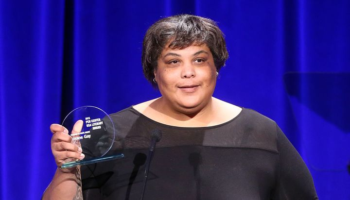 Roxane Gay, making history.