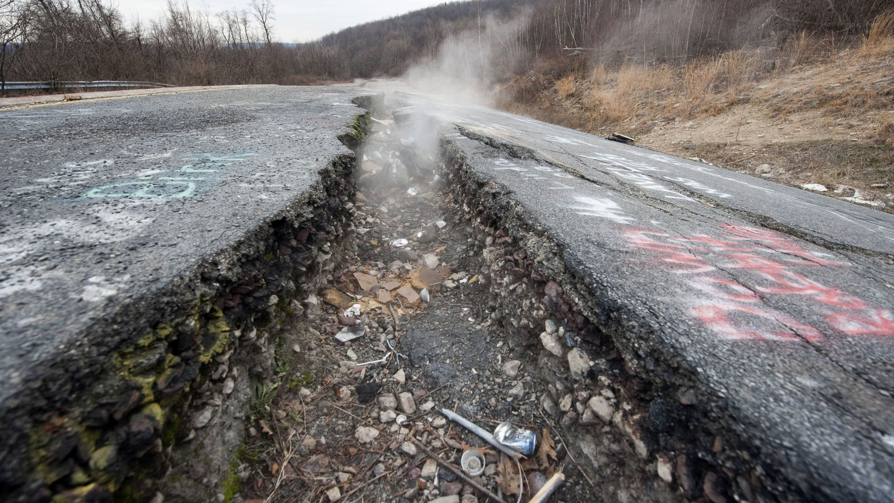 This Abandoned Pennsylvania Town Has Been On Fire For 53