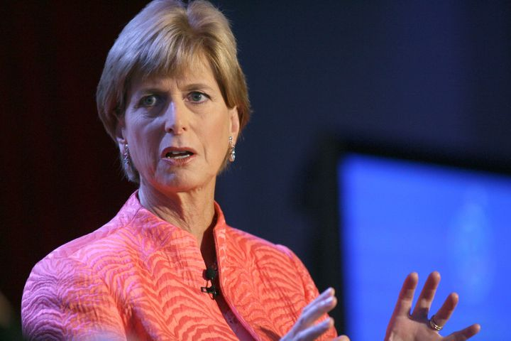 Christine Todd Whitman thinks being mentally stable is a plus when it comes to being president of the United S