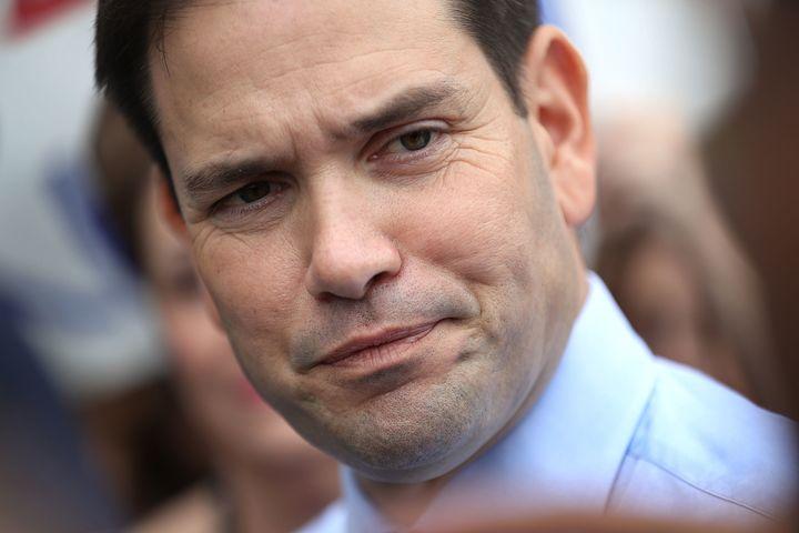 Is Sen. Marco Rubio worried gun control advocateshave a point?