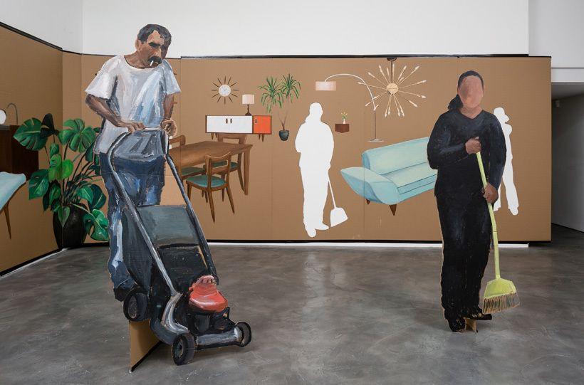 Ramiro Gomez, <em>Cut-Outs. </em>Charlie James Gallery, December 12, 2015 - January 2, 2016.