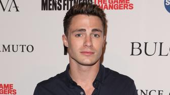 WEST HOLLYWOOD, CA - SEPTEMBER 24:  Actor Colton Haynes attends the annual 'Game Changers' celebration hosted by Men's Fitness magazine at Palihouse on September 24, 2015 in West Hollywood, California.  (Photo by Paul Archuleta/FilmMagic)