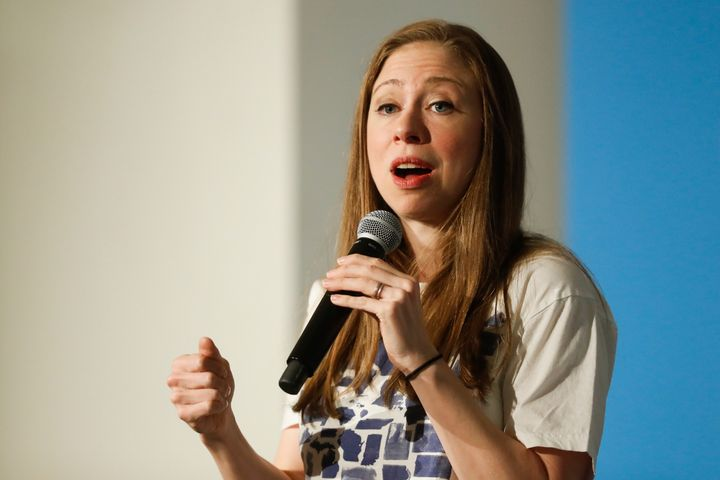 "Chelsea Clinton said the GOP's openly anti-LGBT platform ""is the clarion call for all of us to do everything we can to elect"