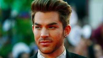 American singer Adam Lambert arrives at the MuchMusic Video Awards (MMVAs) in Toronto, June 21, 2015. REUTERS/Mark Blinch