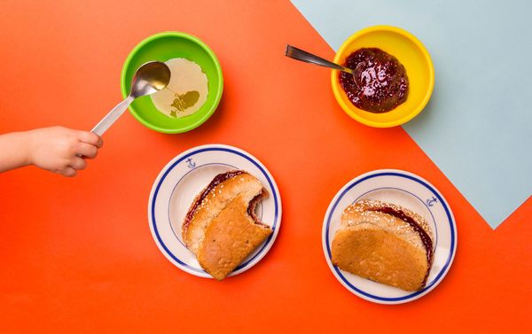 Leanne Goolsby Thompson's son sometimes makes his mom breakfast. And when he does, he likes to make jelly and honey san