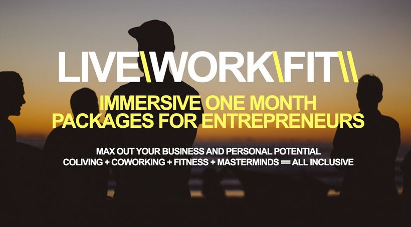 LiveWorkFit is a new coworkation retreat for location independent entrepreneurs