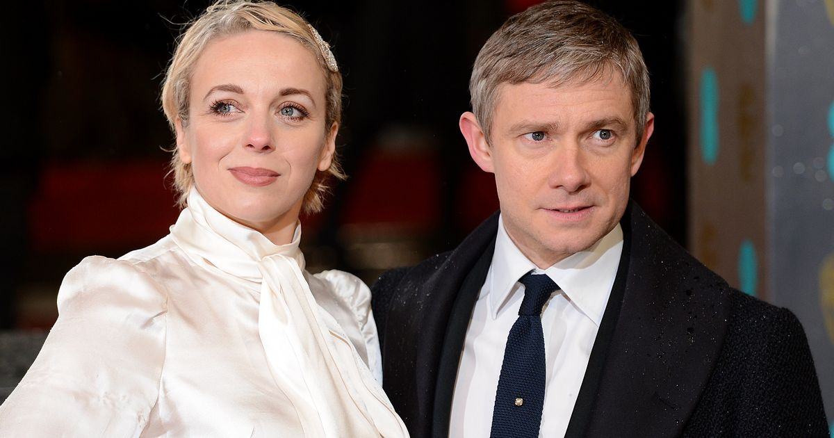 Amanda Abbington Sherlock Wedding Martin Freeman ...