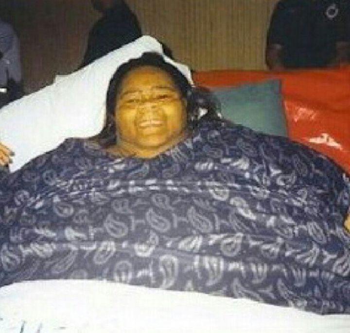 Catrina Raiford before losing weight.