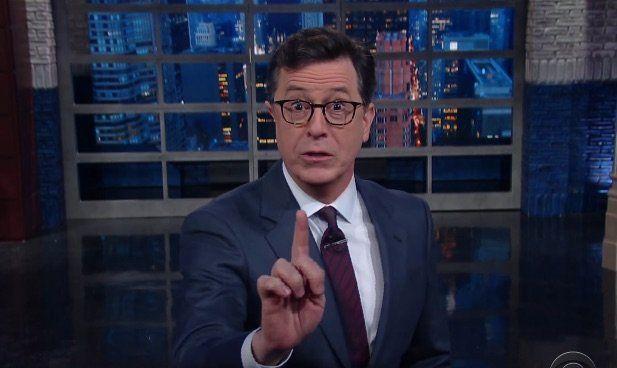 Stephen Colbert Rips Trump For Finally Going 'Too Far' Over Meryl
