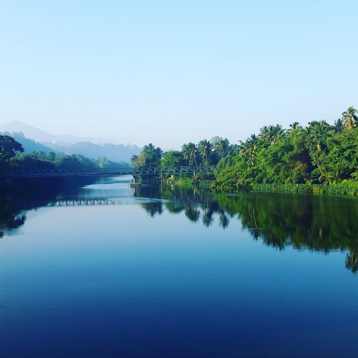A photo taken during a run in 2016 on a solo trip to Sri Lanka.
