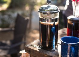 There's A Ridiculously Easy Way To Clean Your French Press