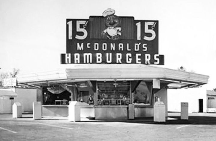 The original McDonald's in San Bernardino, California