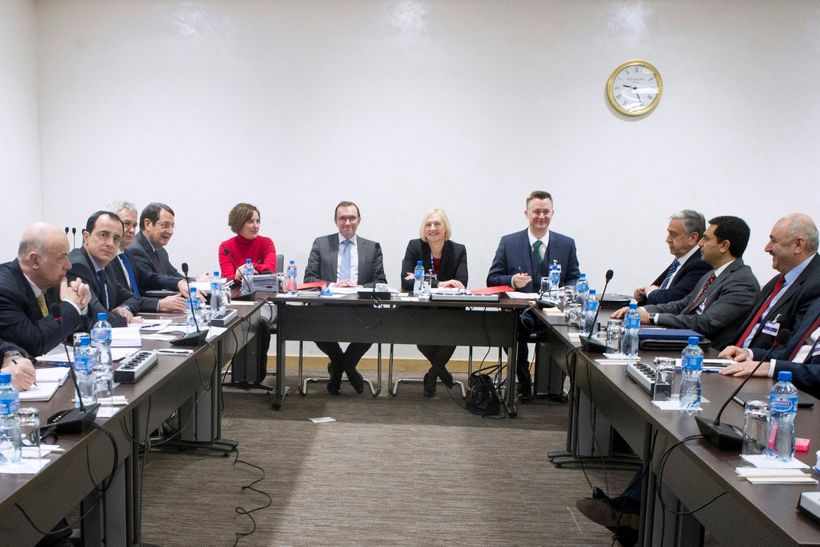 Cyprus reunification negotiations resume in Geneva