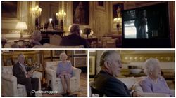 Exclusive Footage Of The Queen And Prince Charles Watching 'The
