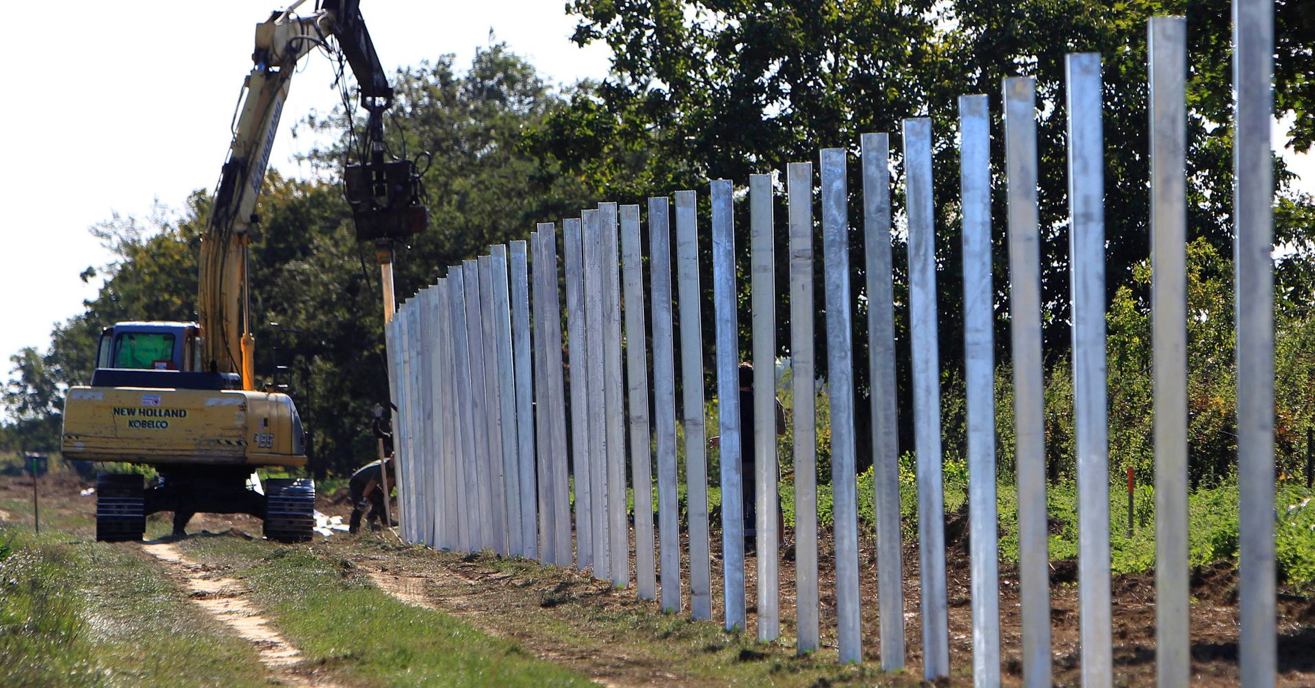 """will border fence solve the problem Border fences: costlier than the problem such thing as a free border fence so high as to be worse than the """"problem"""" they're trying to solve."""
