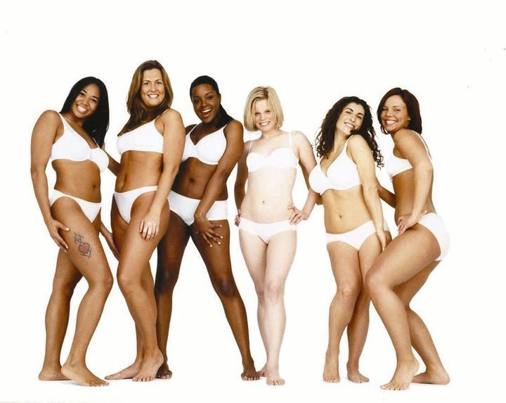"An image from Dove's ""Real Beauty"" campaign."