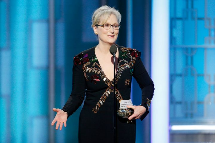 Meryl Streep's speech called out Donald Trump -- although not by name.
