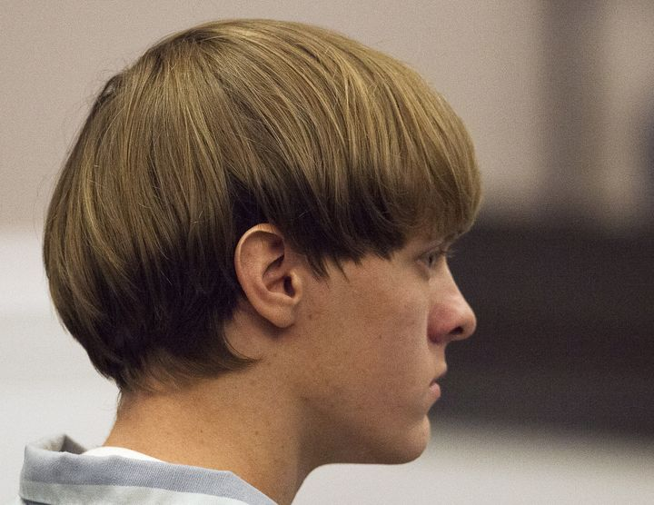 Dylann Roof, who has since been convicted of killingnine worshippers at a historic black church in Charleston, South Ca