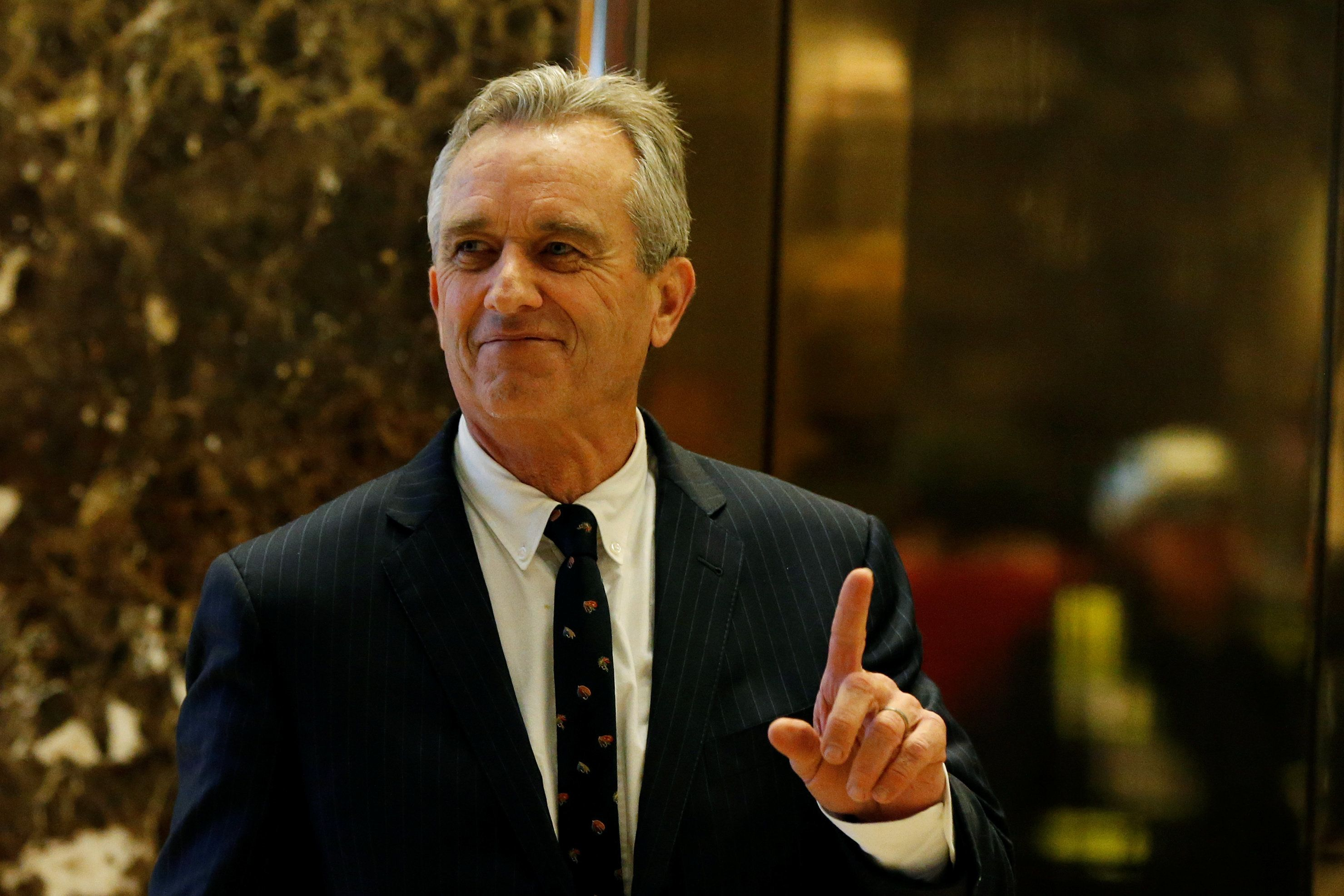 Robert F. Kennedy Jr. wrote a book suggesting a vast vaccine coverup.