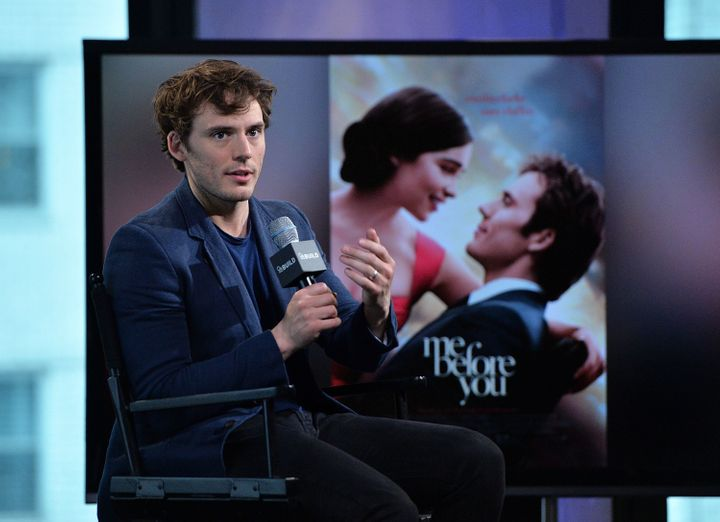 "Sam Claflin visits AOL Build to discuss his new film ""Me Before You,"" May 23, 2016, in New York City."