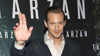 BUENOS AIRES, ARGENTINA - JULY 15:  Alexander Skarsgard attends a photocall for 'The Legend of Tarzan' at the Alvear Palace Hotel on July 15, 2016 in Buenos Aires, Argentina.  (Photo by Lalo Yasky/Getty Images)
