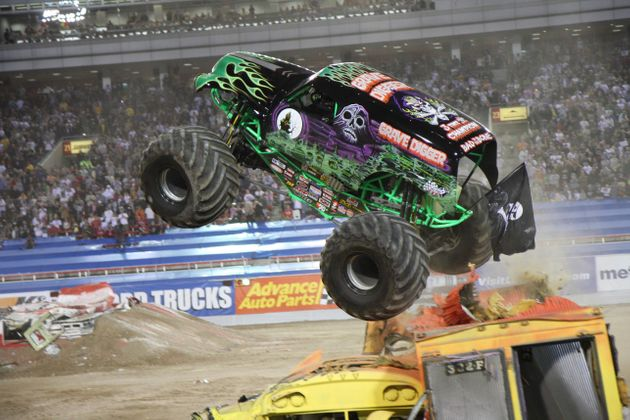 The Road To Becoming A Monster Truck Driver Matt Cody Tells All Huffpost