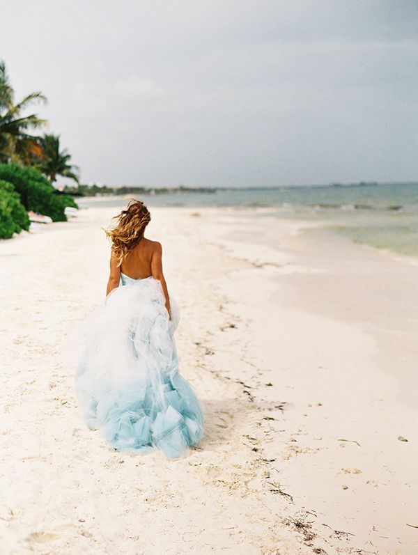26 dreamy blue wedding dresses that stand out in a sea of white igown by junglespirit Images