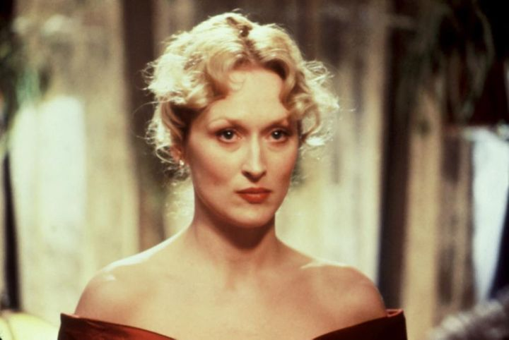 "Meryl Streep as Zofia ""Sophie"" Zawistowski in <em>Sophie's Choice</em>."