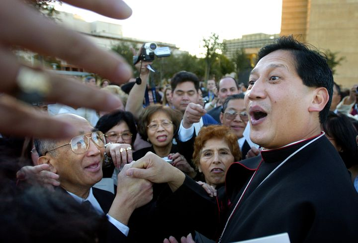 Bishop Oscar Solis was ordained as an auxiliary bishop in 2004.