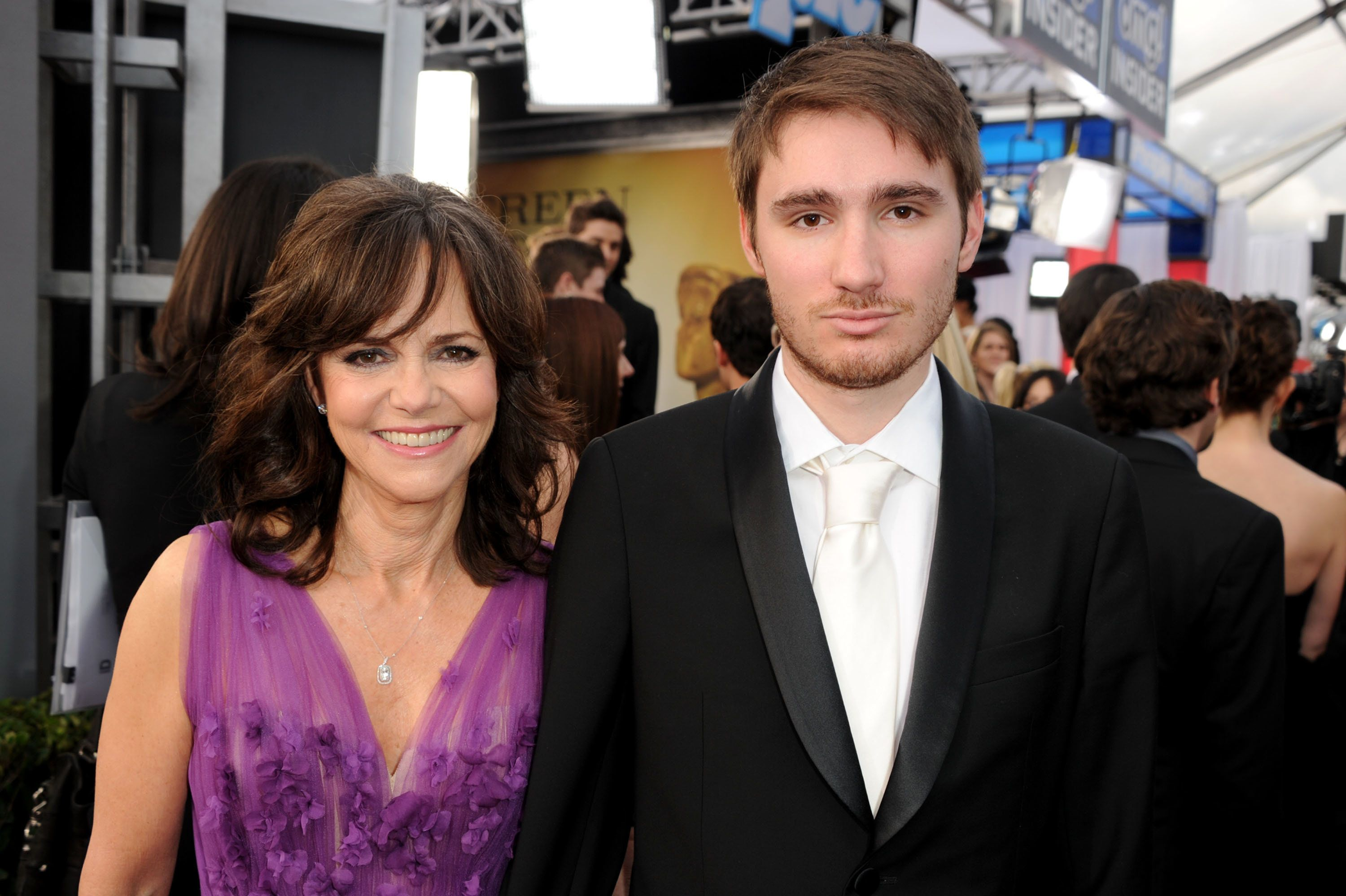LOS ANGELES, CA - JANUARY 27:  Actress Sally Field and son, Sam Greisman attend the 19th Annual Screen Actors Guild Awards at The Shrine Auditorium on January 27, 2013 in Los Angeles, California. (Photo by Kevin Winter/WireImage) 23116_017_0658.JPG