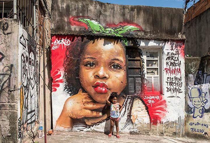 Carão from Rio de Janeiro. Meeting Of Favela 2016. Favela Operaria. Duque de Caxias. Rio De Janeiro, Brazil.