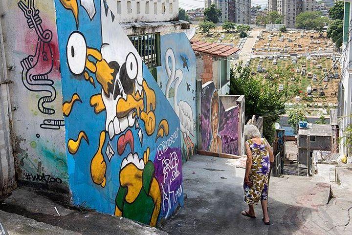 Unidentified artist. Meeting Of Favela 2016. Favela Operaria. Duque de Caxias. Rio De Janeiro, Brazil.