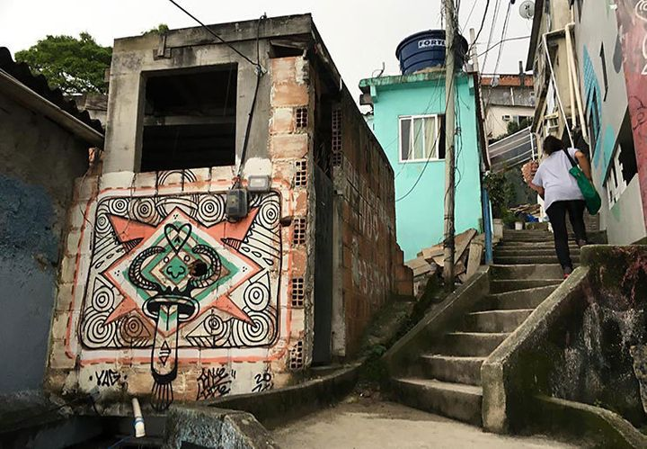 Unidentified Artist. Vidigal Favela. Rio De Janeiro, Brazil.