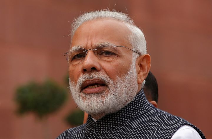 Indian Prime Minister Narendra Modi made a surprise stopover in Pakistan on Friday.