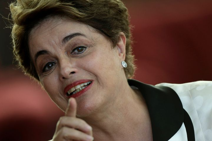 Thousands of Brazilians took to the streets of major cities to demand President Dilma Rousseff's ouster.