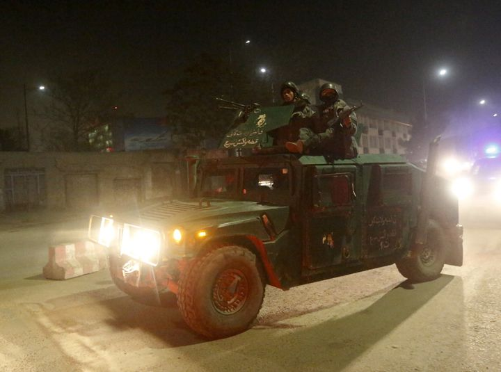 The Taliban claimed responsibility for a car bomb attack on the Spanish embassy in Kabul.