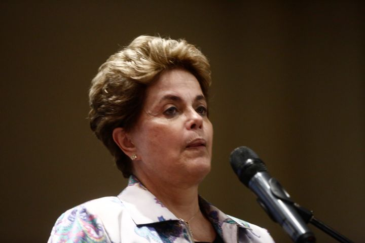 Brazil's Supreme Court suspended impeachment proceedings against President Dilma Rousseff until it rules on the validity of a